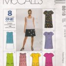 Misses' Dress Sewing Pattern Size 10-14 McCall's 8818 UNCUT