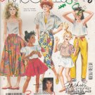 Girls' Pants Shorts Skirt Sewing Pattern Size 10-14 McCall's 2970 UNCUT