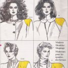 Vintage Sewing Pattern Misses' Camisole & Shoulder Pads Size S-XL Vogue 9697 UNCUT