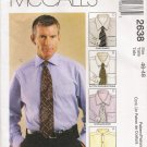 Men's Shirt Sewing Pattern Size 46-48 McCall's 2638 UNCUT