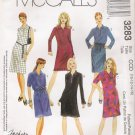 Misses' Dress Top Skirt Sewing Pattern Size 10-16 McCall's 3283 UNCUT