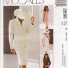 Misses' Dress Jacket Skirt Sewing Pattern Size 14-18 McCall's 2698 UNCUT