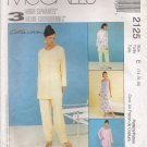 Misses' Shirt Top Pants Skirt Sewing Pattern Size 14-18 McCall's 2125 UNCUT