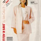 Misses' Jacket & Skirt Sewing Pattern Size 10-14 McCall's 3560 UNCUT
