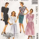 Misses' Two Piece Dresses Sewing Pattern Size 10-14 McCall's 5301 UNCUT