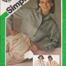 Misses' Shirt Sewing Pattern Size 14 Simplicity 6575 UNCUT