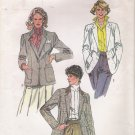 Misses' Lined Blazer Sewing Pattern Size 12 Simplicity 6723 UNCUT