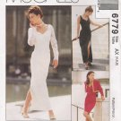 Misses' Bolero & Dress Sewing Pattern Size 4-8 McCall's 6779 UNCUT