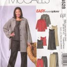 Women's Jacket Top Dress Skirt Pants Plus Size Sewing Pattern Size 18-24 McCall's 4528 UNCUT