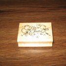 You're Invited Wood Mounted Rubber Stamp by Art Impressions