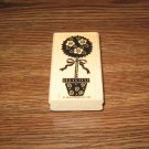 Rose Topiary Wood Mounted Rubber Stamp by Stampin Up