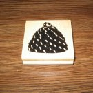 Bee Skep Wood Mounted Rubber Stamp by JRL Design Co.