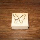 Butterfly Wood Mounted Rubber Stamp by Stampin Up