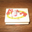 Looney Tunes Taz Wood Mounted Rubber Stamp by Rubber Stampede