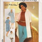 Misses' Pants Top Oversized Shirt Sewing Pattern Size 12 Simplicity 6846 UNCUT