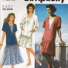 Misses' Dress Sewing Pattern Size PT-XL Simplicity 7323 UNCUT