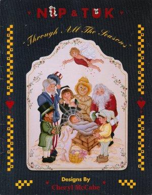 Nip & Tuk's Through All The Seasons Tole Painting Book by Cheryl McCabe