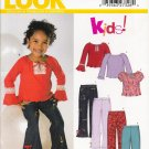 Children's Top & Pants Sewing Pattern Size 3-8 Simplicity New Look 6337 UNCUT