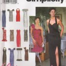Misses' Dress Sewing Pattern Size 10-14 Simplicity 8970 UNCUT