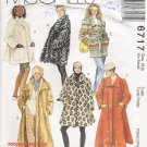 Misses' Coat & Headband Sewing Pattern Size 6-8 McCall's 6717 UNCUT