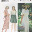 Misses' Dress Sewing Pattern Size XS-M Simplicity 9493 UNCUT