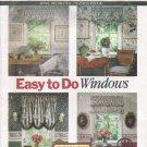 Window Treatments Sewing Pattern Butterick 6032 UNCUT