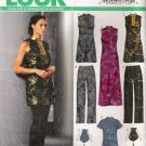 Misses' Dress Top Pants Handbag Sewing Pattern Size 8-18 Simplicity New Look 6295 UNCUT
