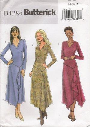Misses' Dress Sewing Pattern Size 6-12 Butterick 4284 UNCUT