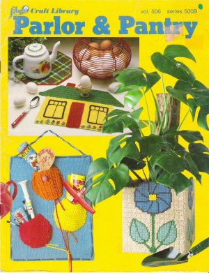 Parlor & Pantry Knit & Crochet Pattern Book by Lily Craft Library