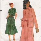 Vintage Sewing Pattern Half-Size Dress & Jacket Size 16 1/2 Vogue 7224 UNCUT