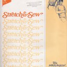 Vintage Sewing Pattern Men's Tab Front Shirt Chest Sizes 34-48 Stretch & Sew 1750 UNCUT