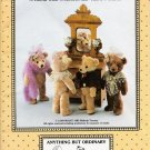 Bebo & Babette Old Fashioned Teddy Bear Sewing Pattern Anything But Ordinary 126 UNCUT