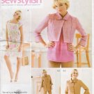 Misses' Dress Top Jacket Pants Sewing Pattern Size 14-22 Simplicity 3523 UNCUT