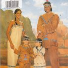 Men's & Misses' Native American Halloween Costumes Sewing Pattern All Sizes Butterick 4171 UNCUT