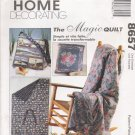 Magic Quilt Sewing Pattern McCall's 8657 UNCUT