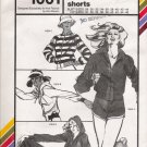 Vintage Sewing Pattern Action Jackets & Shorts Hip Sizes 30-46 Stretch & Sew 1001 UNCUT