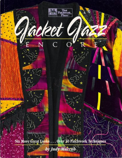 Jacket Jazz Encore by Judy Murrah Wearable Art Book