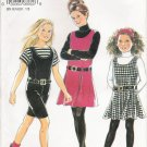 Girls' Dress & Shortalls Sewing Pattern Size 9-14 Simplicity New Look 6954 UNCUT