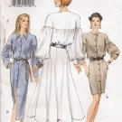Misses' Poet Sleeve Dress Sewing Pattern Size 6-10 Vogue 8980 UNCUT