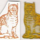 Cat Unmounted Rubber Stamp