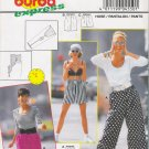 Misses' Pants & Shorts Sewing Pattern Size 8-18 Burda 4550 UNCUT