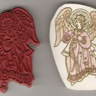 Christmas Angel Unmounted Rubber Stamp