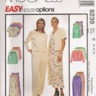 Misses' Jacket Dress Tunic Pants Shorts Sewing Pattern Size 8-12 McCalls 9239 UNCUT