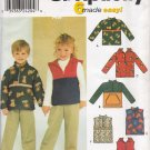 Child's Top or Vest Sewing Pattern Size 3-8 Simplicity 9347 UNCUT