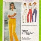 Vintage Sewing Pattern Misses' Proportioned Pants Size 10-14 Simplicity 9267 UNCUT