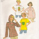 Vintage Sewing Pattern Misses' Pullover Tops Size 10 Simplicity 7851 UNCUT