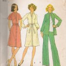 Vintage Sewing Pattern Misses' Dress Or Top & Pants Size 12 Simplicity 7092 UNCUT