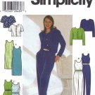 Misses' Dress Jumpsuit Jacket Sewing Pattern Size 18-22 Simplicity 7711 UNCUT