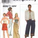 Misses' Shirt Pants Skirt Knit Top Sewing Pattern Size 14-20 Simplicity 9053 UNCUT
