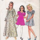 Vintage Sewing Pattern Girls' & Chubbies' Dress Size 8 Simplicity 6538 UNCUT